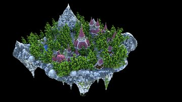 Sky Block Spawn •|• Medieval Theme Minecraft Map & Project