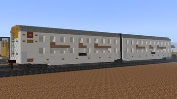 Rolling Stock - Automax Articulated Autorack Car & Gunderson Maxi-IV Stack Car Minecraft Map & Project