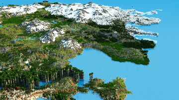 Benkankor - CheeseCave-tastic! The wild lands - (Download, 4k, 1.17+,Java & Bedrock, Multibiome Minecraft Survival World) Minecraft Map & Project