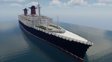 SS France (1960) Minecraft Map & Project