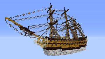 HMS Primus - By KryHavoc Minecraft Map & Project