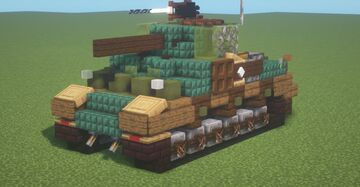 M4 (Early) (1.5:1 Scale) Minecraft Map & Project