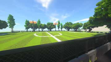 Soccer Field Minecraft Map & Project