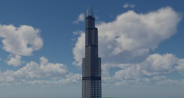 Willis (Sears) Tower Minecraft Map & Project