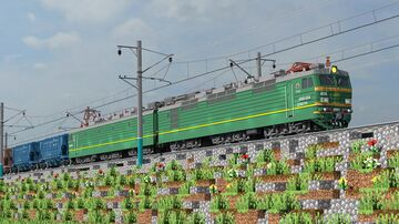 Russian Cargo Cars Pack (RZD) Minecraft Map & Project