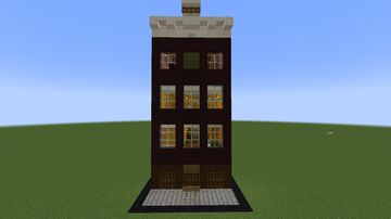 Anne Frank House Amsterdam Minecraft Map & Project