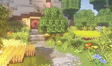 Strawberry Hobbit Hole Minecraft Map & Project