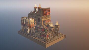 Industrial-SC 330 | SCI-FI Build Minecraft Map & Project