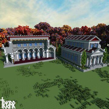 Roman Basilica +Tutorial Minecraft Map & Project