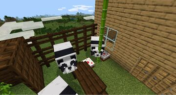 Panda Life In The Sky! Minecraft Map & Project