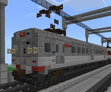 [1.5:1] Tokyu Car Corporation RTA subway train Minecraft Map & Project