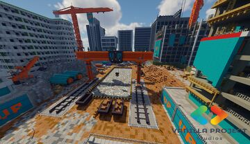 🚧 Building site map 🚧 Minecraft Map & Project