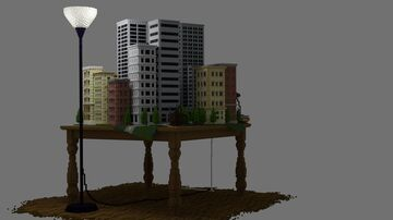 Table City Minecraft Map & Project