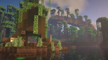 Overgrown - Rainforest themed Hunger Games PVP Map Minecraft Map & Project