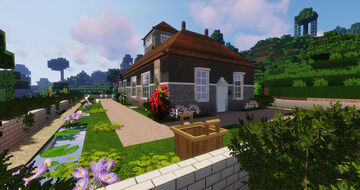 Modern Classic Holiday Home Minecraft Map & Project