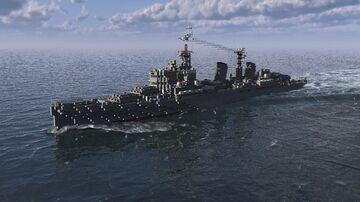 HMS Belfast C35 Minecraft Map & Project