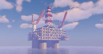 Oil Rig | NorthOcean Platform Minecraft Map & Project