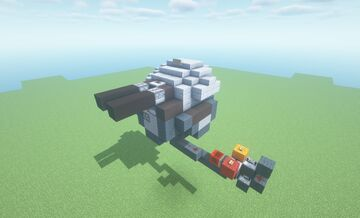 DST Mk2  -  Adjustable Trajectory TNT Cannon ( Scattershot | Turret | Movecraft Compatible ) Minecraft Map & Project