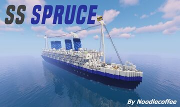 SS Spruce Minecraft Map & Project