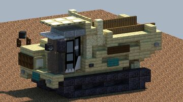 Komatsu CD110r-2, Tracked dump truck [With Download] Minecraft Map & Project
