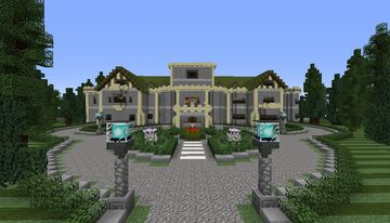 Superhero City (MCU, DCEU, X-MEN, Arrowverse and many others from the super heroes universes!) Minecraft Map & Project