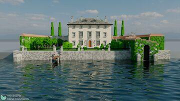 Villa Balbiano - 3:1 scale Italian villa Minecraft Map & Project