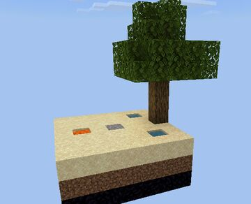 Stampys skyblock bedrock edition Minecraft Map & Project