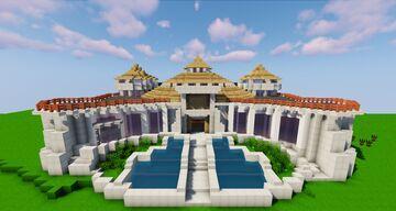 Jurassic Park Visitor Center V2.1 Minecraft Map & Project