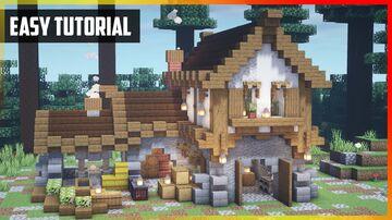 ⚒️ Minecraft: Medieval Blacksmith | Easy Tutorial Minecraft Map & Project