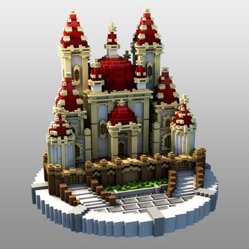 Small castle Minecraft Map & Project