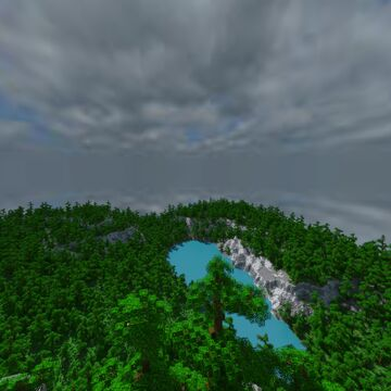 Tropical Cliffs Minecraft Map & Project
