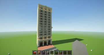 New-York city. Madison Square Minecraft Map & Project