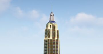New York City 2.0 (Empire State Building) Minecraft Map & Project