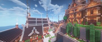 Medieval Town [1.16.3] Minecraft Map & Project