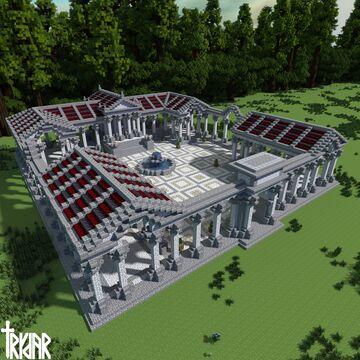 Roman Marketplace v2 Minecraft Map & Project