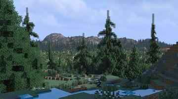 Carnelia Island 1.14-1.16 (4096x4096) Minecraft Map & Project