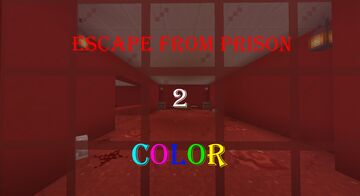 Escape from prison 2: Color [1.16.5] Minecraft Map & Project