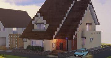 Adams House//Yokai Wacth revreation Minecraft Map & Project