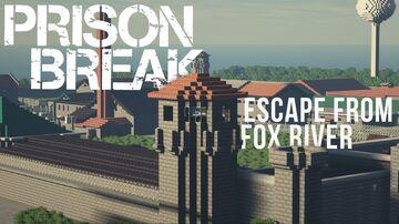Prison Break - Escape from Fox River [2 Player Coop Escape Map] Minecraft Map & Project