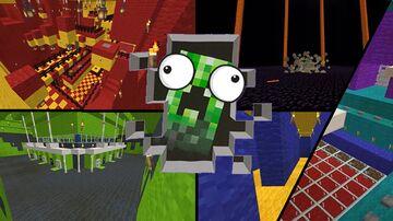 Crazycreeper Minecraft Map & Project