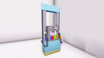 Gas Station Fuel Pump  [1:1 Scale Little Tiles] [Download Available] Minecraft Map & Project