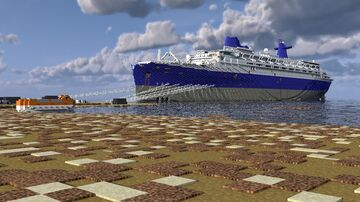 SS Blue Lady (SS Norway) being scrapped at Alang Minecraft Map & Project