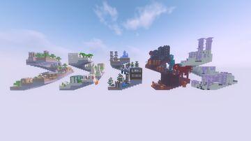 Escalation - Speedrunning Parkour Map Minecraft Map & Project