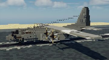 USN C-130T Hercules - 1.5:1 Scale Minecraft Map & Project
