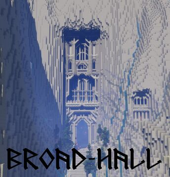 Broad-Hall: Home of the Broadbeards Minecraft Map & Project