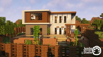 A Modern House - 03 Minecraft Map & Project