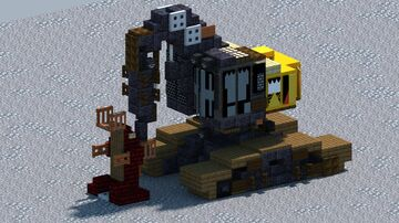 Cat 522B, Feller Buncher [With Download] Minecraft Map & Project