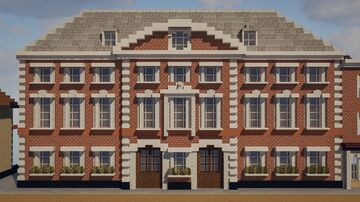 Grand Whiteburgia Hotel (103 High St) Minecraft Map & Project