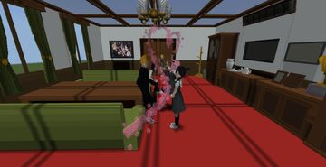 Love is War Student Council Room Minecraft Map & Project