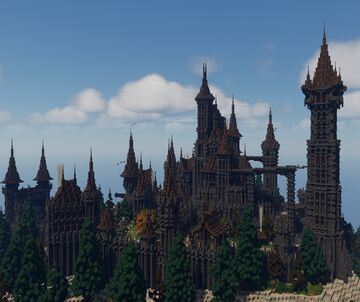 𝔐𝔬𝔫𝔱𝔰𝔭𝔦𝔯𝔢 ℭ𝔞𝔰𝔱𝔩𝔢 Minecraft Map & Project